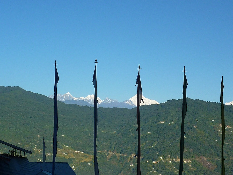 Sikkim is very hilly and has steep lands.