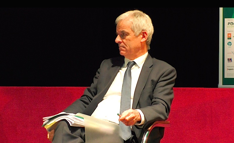 Nicolas Verlet represents the European Commission.