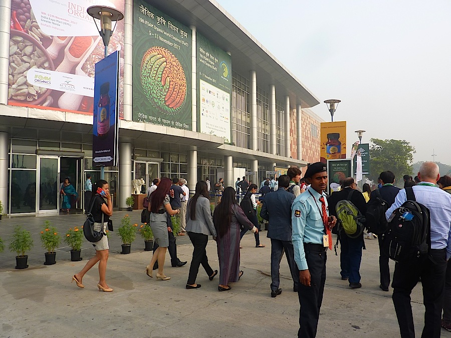 The 19th Organic World Congress attracted around 10,000 international delegates and visitors