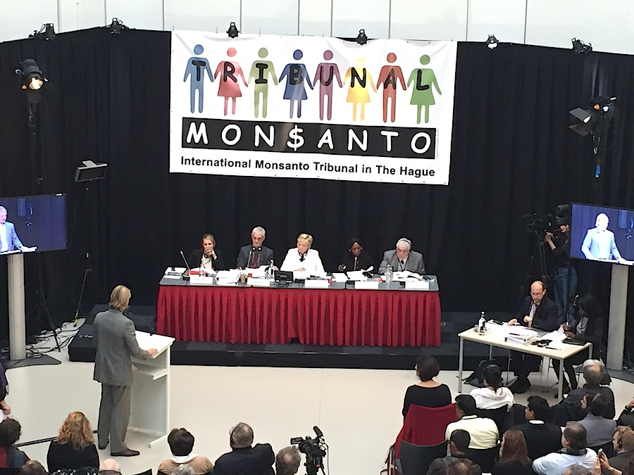 Monsanto Tribunal in The Hague, October 2016